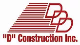D Construction logo